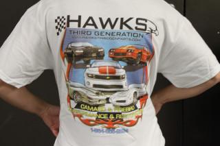 **CLEARANCE** Hawks Third Generation T-Shirt, White