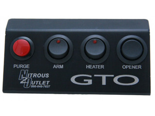 04-06 GTO Fold Up Switch Panel, Nitrous Outlet