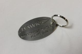 Hawks Third Gen Keychain w/ Ring