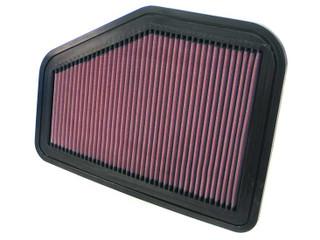 K&N Air Filter, 2008-09 Pontiac G8, 3.6L, 6.0L; 2009 Pontiac G8, 6.2L