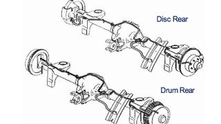 89-92 Camaro / Firebird Rear Disc Axle Lines