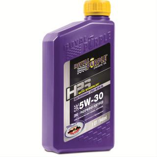SAE 5W-30 Royal Purple HPS Engine Oil, 1 Quart Bottle, Single