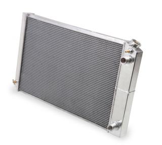 "Frostbite Aluminum Radiator, LS Swap- 3 Row  1968-1974 GM ""X"" Body  LS Swap 4.8/5.3/6.0/6.2/7.0L (3-Row) 21"" Core"