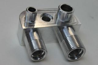 LSX LS2 Engine Swap Conversion A/C Line Compressor Adapter Fitting