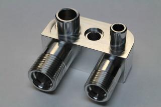 LSX LS3 Engine Swap Conversion A/C Line Compressor Adapter Fitting