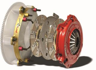 LS1/LS2/LS3/LS6/LS7 RST Street Twin Disc Clutch Kit 800HP, McLeod Racing Clutch