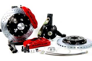 """82-92 Camaro/Firebird Brake Kit, PRO+ Front Brake System w/ 13"""" Rotors, BAER"""