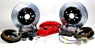 "82-92 Camaro/Firebird Rear Extreme+ Brake System w/ 14"" Rotors, (Ford 9"" Torino Ends), BAER"
