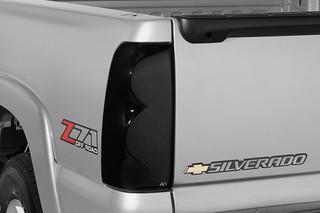 14-15 Chevrolet Silverado 1500 Auto Ventshade Smoked Tail Light Covers, Pair