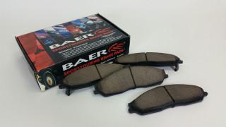 1998-2002 Camaro/Firebird Brake Pads (Rear), Baer Sport