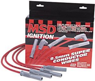 93-97 LT1 Super Conductor Spark Plug Wires, Red, MSD