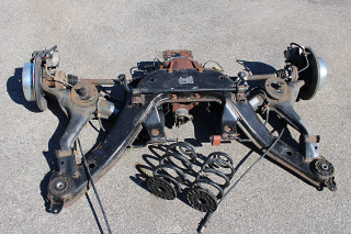 04-06 GTO GM 3.46 Rear Differential Rear End Independent Rear Suspension, USED