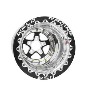 Weld Drag Wheel Alumastar Rear