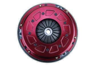 Pro Street Dual Disc, Organic Friction Material, Steel Flywheel, RAM Clutch