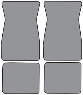 1974-1981 Camaro Floor Mats 4pc Loop