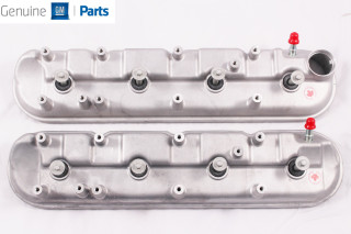 LS9 Corvette /LSA CTS-V/ZL1 Bare Valve Covers w/Gaskets and Bolts NEW GM Pair