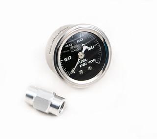 LSX LS1/LS2/LS3/LS6/LS7 Direct Rail Mount Fuel Pressure Gauge