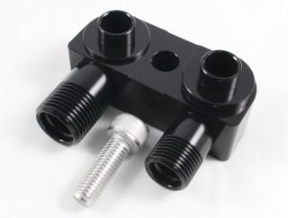 LSX LS1 Swap Conversion NEW AC Compressor Adapter Fitting BLACK
