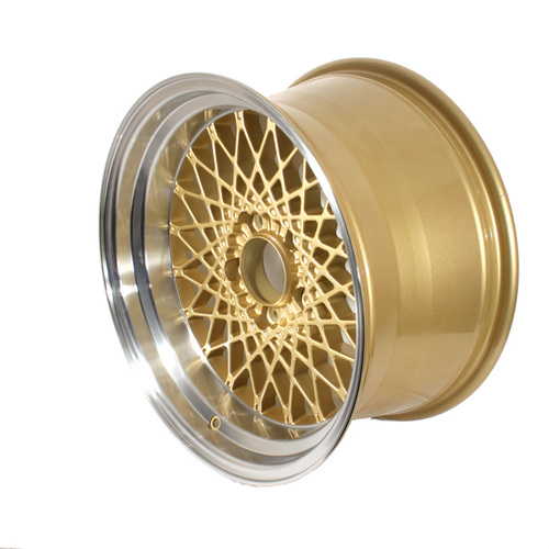 GTA Mesh Wheel Set of 4 17 x 9 Gold Reproduction FREE SHIPPING!