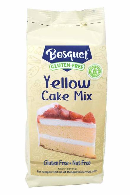 Bosquet Gluten-Free Yellow Cake Mix 1 Lb. Bag