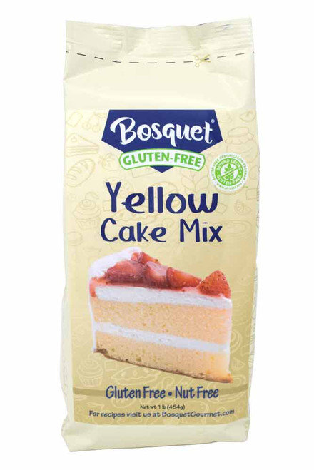 Bosquet Gluten-Free Yellow Cake Mix 1 Lb. Bag
