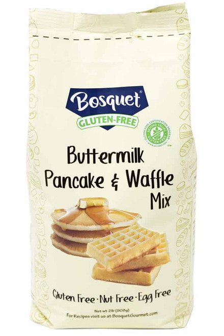 Bosquet Gluten-Free Buttermilk Pancake and Waffle Mix Label