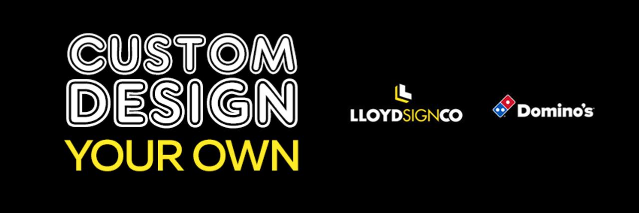 bdcb866b Custom Design Banner - Lloyd Sign Co Dominos Portal