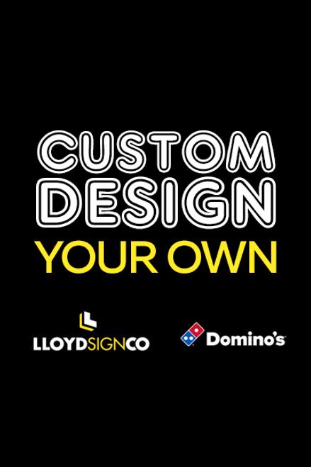 Custom Design A-Frame Insert