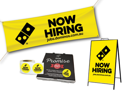 Now Hiring Promo Pack