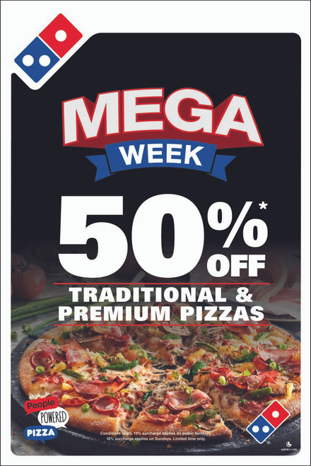 Mega Week A-Frame Insert