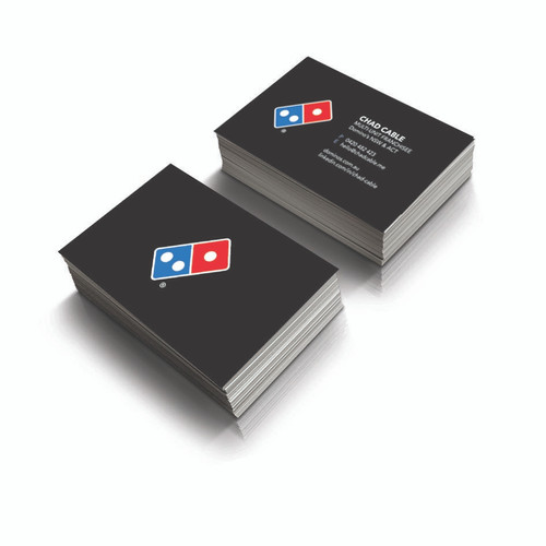 Domino's Business Card