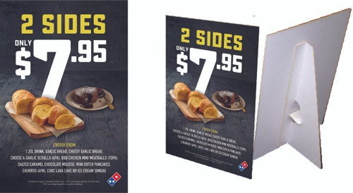 2 Sides for $7.95 Counter Cards