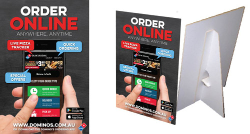 Order Online Counter Cards