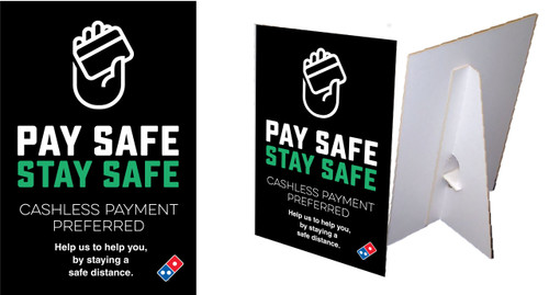 Pay Safe Counter Cards