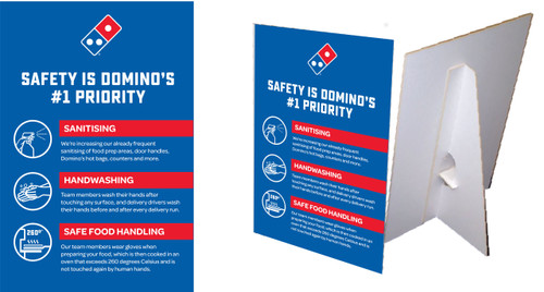 Safety #1 Counter Cards
