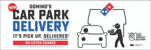 Car Park Delivery Banner
