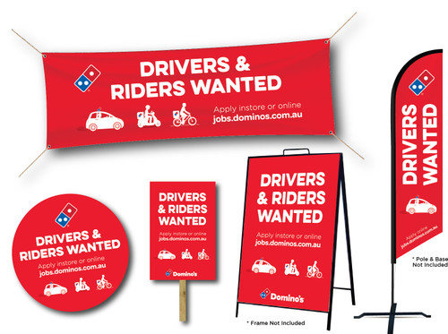 Drivers & Riders Promo Pack