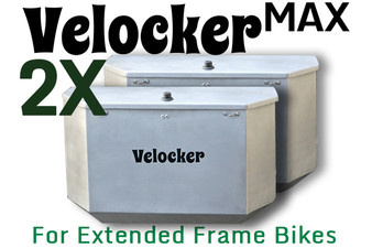 "Set of two 20"" Velocker MAX - For Extended Frame Bikes"