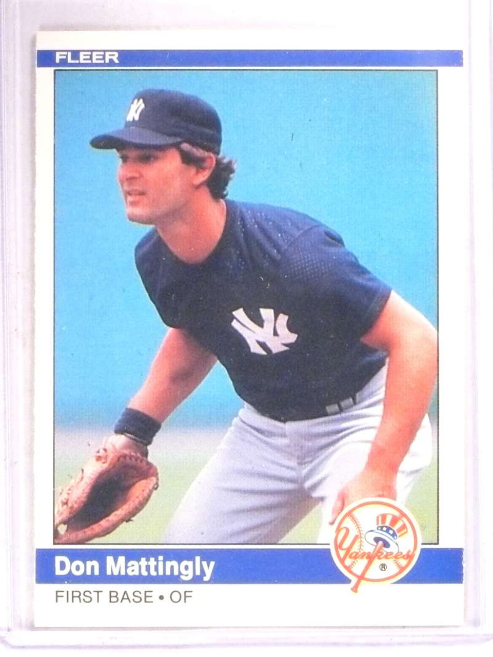1984 Fleer Don Mattingly Rc Rookie 131 Yankees 67911