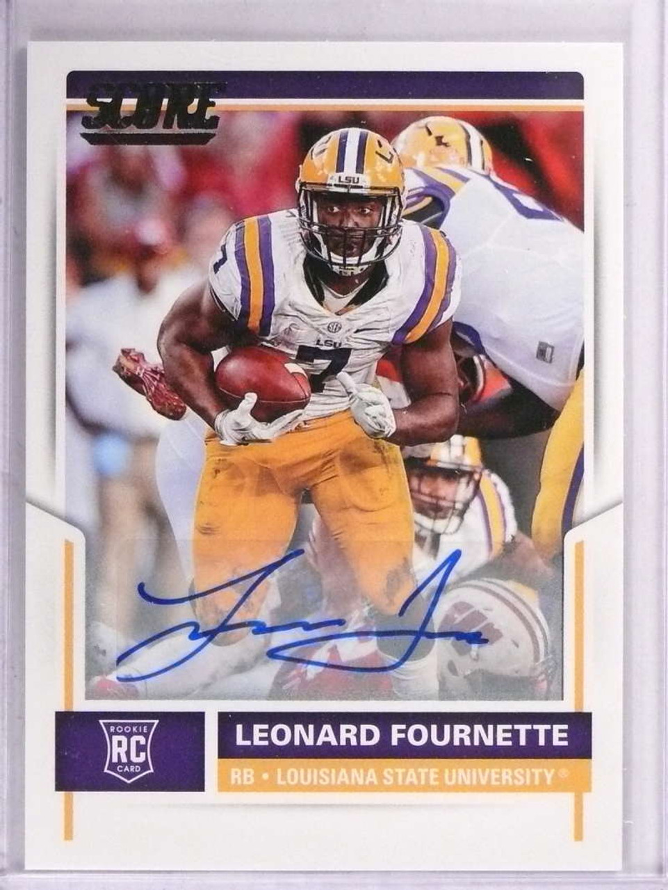 2017 panini score Rookie Leonard Fournette, football card!!!
