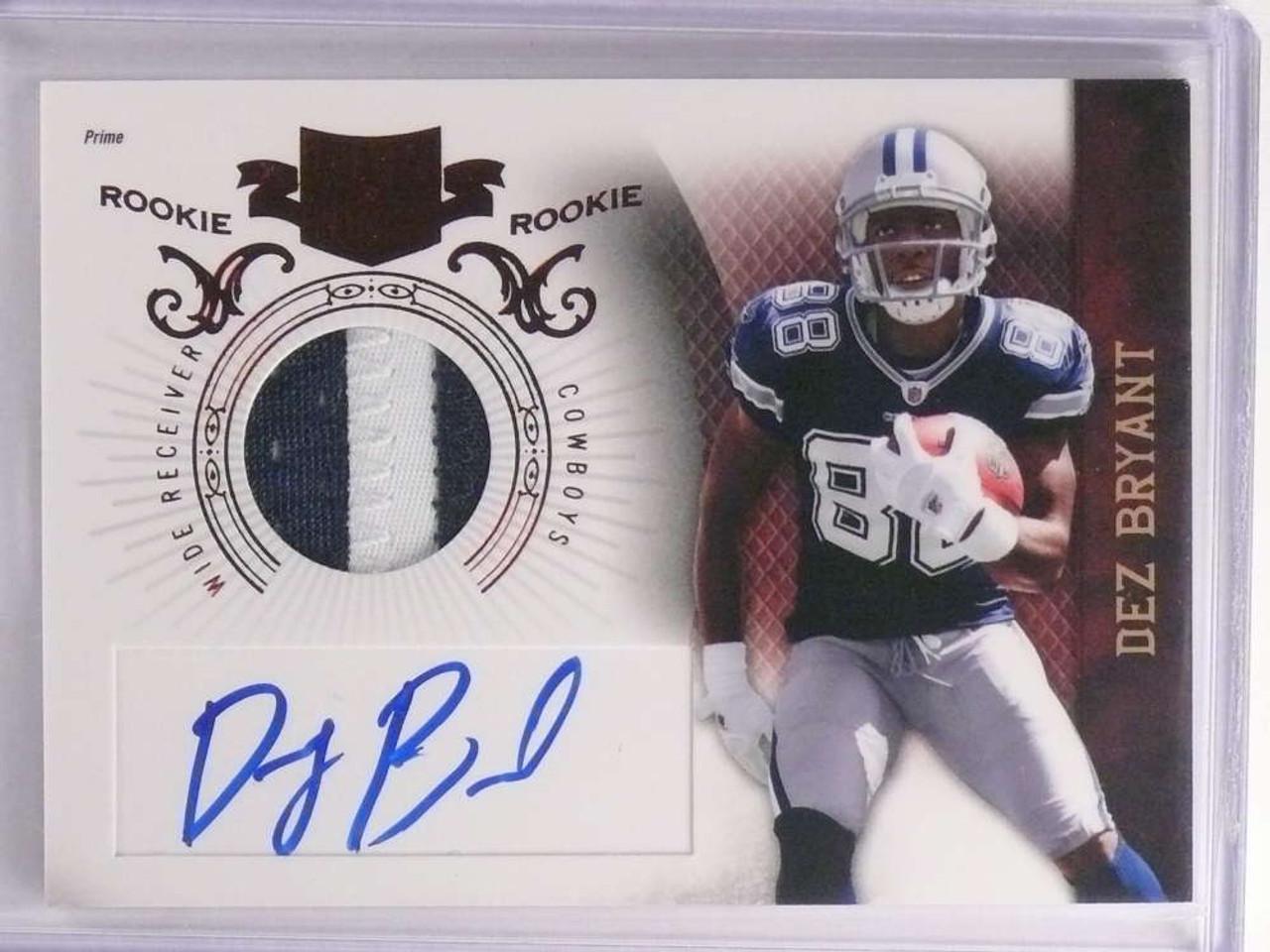 Sold 17081 2010 Panini Plates Patches Dez Bryant Autograph Auto Patch Rc D389 599 70030