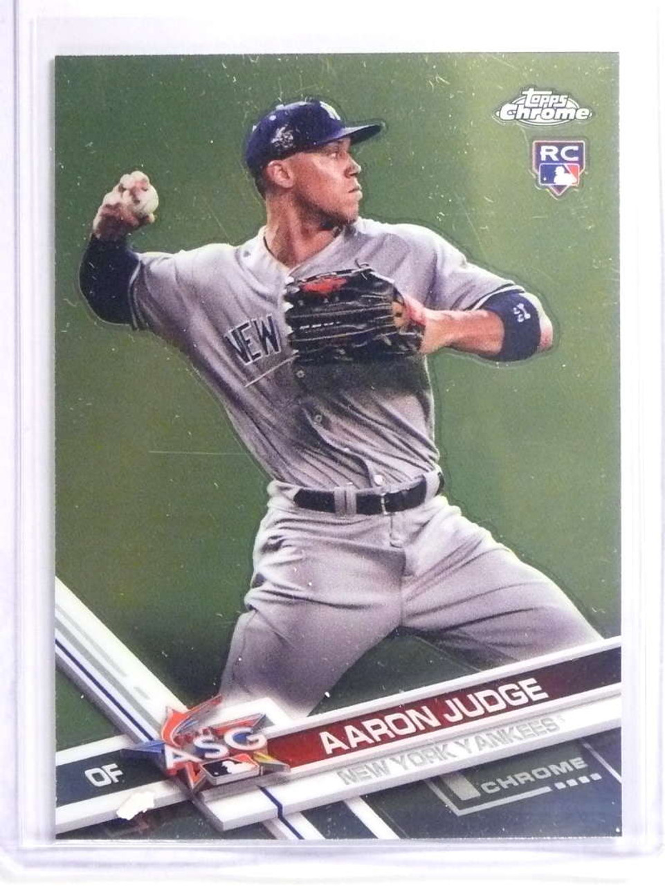 Delete 17568 2017 Topps Chrome Update Aaron Judge Rookie Rc Hmt40 70298