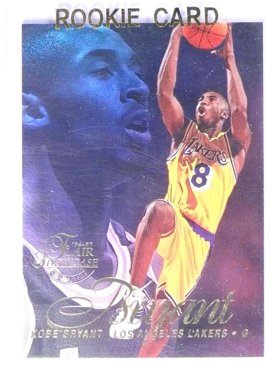 1996 97 Flair Showcase Row 2 Kobe Bryant Rookie Rc 31 75626