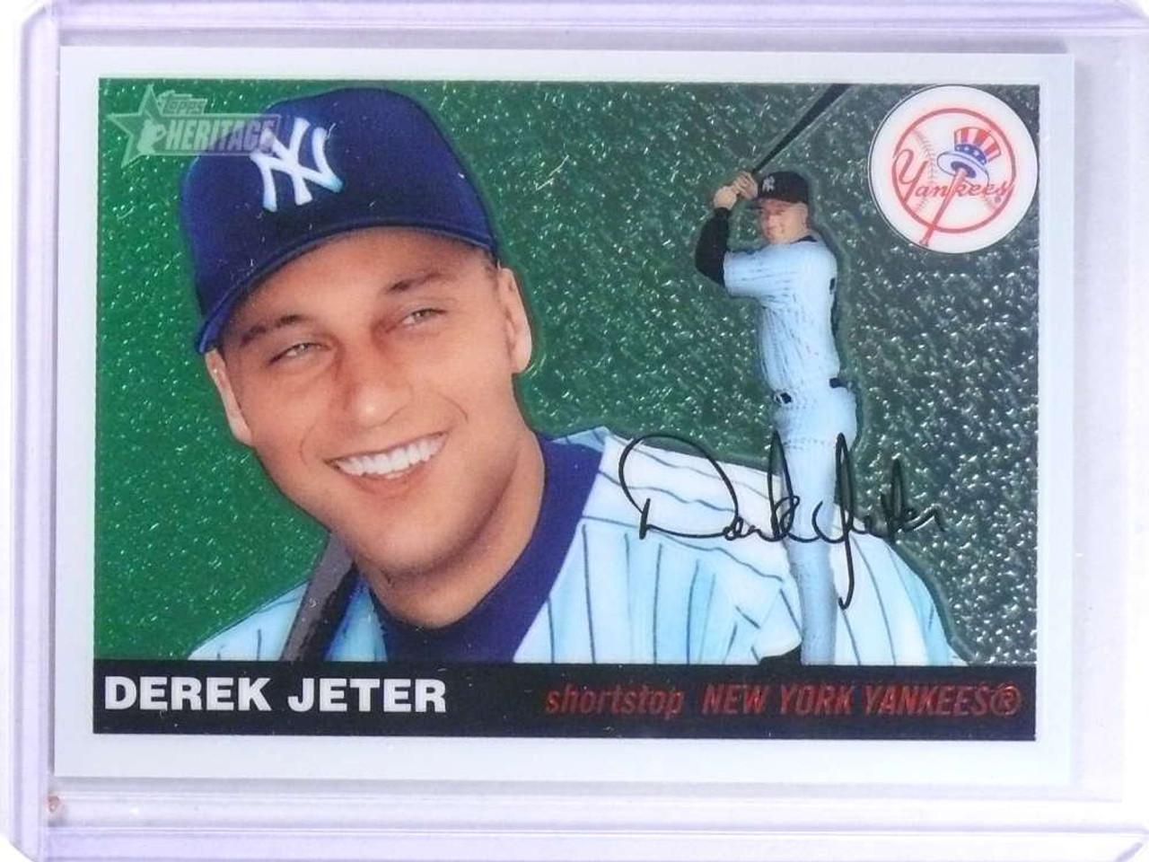 Sold 23674 2004 Topps Heritage Chrome Derek Jeter D2261955