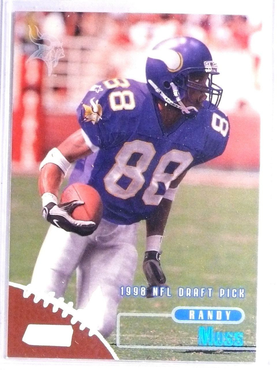 1998 Topps Stadium Club Randy Moss Rookie Rc 189 65922