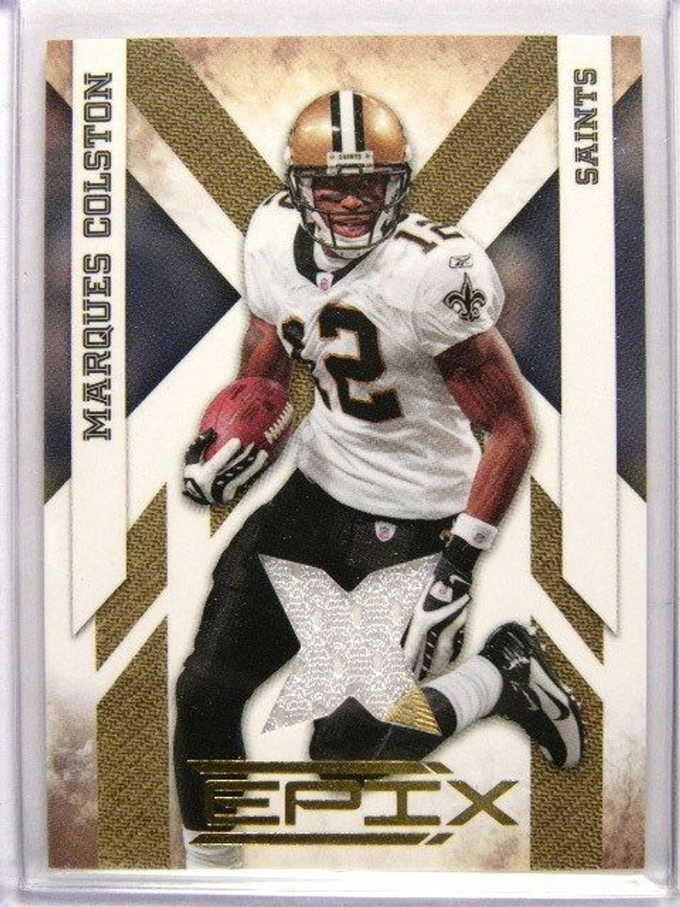 buy online ad349 a5bb5 2010 Panini Epix Marques Colston jersey #D152/299 *27102