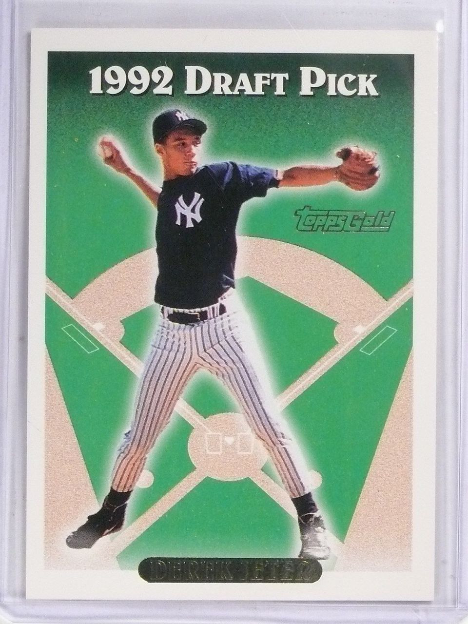 Sold 4936 1993 Topps Gold Parallel Rookie Rc Derek Jeter 98 58916