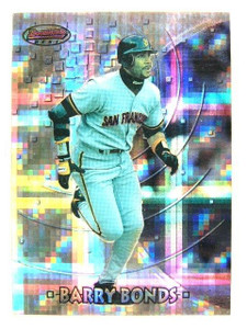1997 Bowman's Best Preview Atomic Refractor Barry Bonds #BBP3 *25822