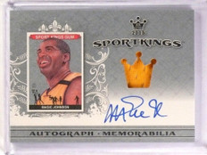 2015 Leaf Sport Kings Sportkings Magic Johnson autograph auto jersey *53416