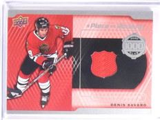 2015-16 Upper Deck Series 2 Denis Savard Piece History Jersey #PCDS *53936